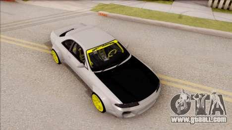 Nissan Skyline R33 Rocket Bunny v4 for GTA San Andreas right view