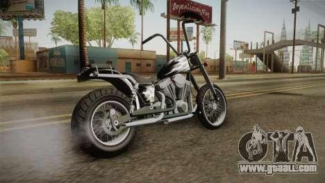 EFLC TLaD Western Daemon for GTA San Andreas left view