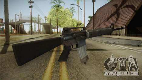 Battlefield 4 M16 for GTA San Andreas second screenshot