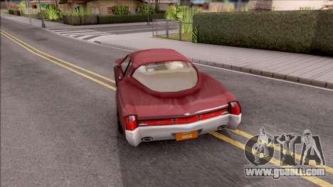 Driver PL Cerva V.2 for GTA San Andreas back left view