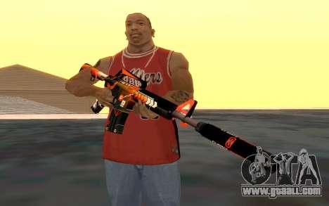 M4 Alliance for GTA San Andreas