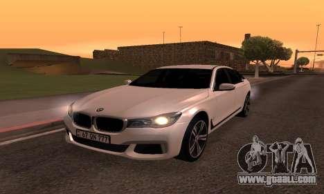 BMW 750i Armenian for GTA San Andreas