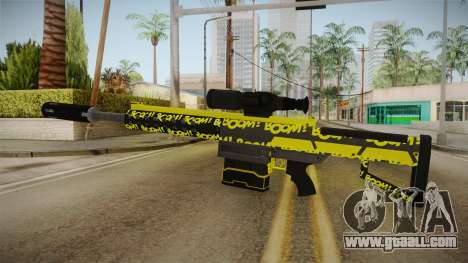Gunrunning Heavy Sniper Rifle v2 for GTA San Andreas second screenshot