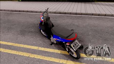 Honda Biz 125 for GTA San Andreas left view