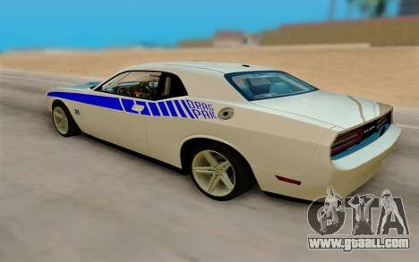 Dodge Challenger Drag Pak Supercharged for GTA San Andreas left view