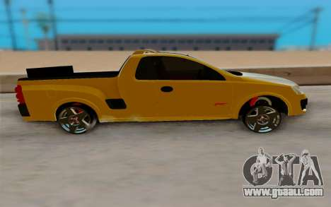 Chevrolet Montana for GTA San Andreas left view