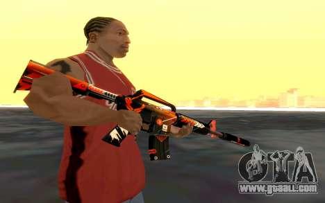 M4 Alliance for GTA San Andreas third screenshot