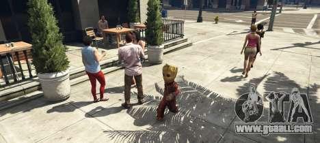 GTA 5 Baby Groot 1.0 third screenshot