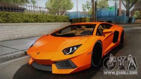 Lamborghini Aventador LP700-4 Stock for GTA San Andreas