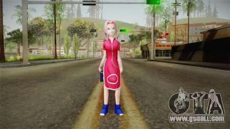 Sakura Haruno NNK for GTA San Andreas second screenshot