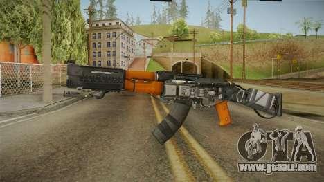 Volk Energy Assault Rifle v2 for GTA San Andreas