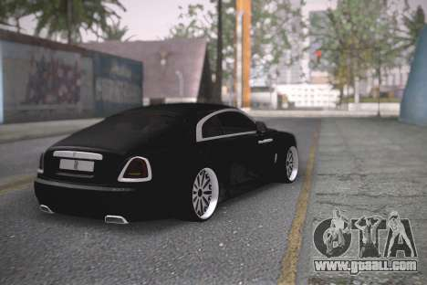 Rolls-Royce Wraith for GTA San Andreas left view