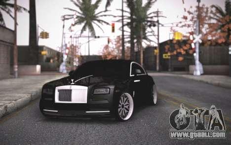 Rolls-Royce Wraith for GTA San Andreas