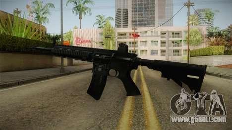 HK416 Assault Rifle for GTA San Andreas second screenshot