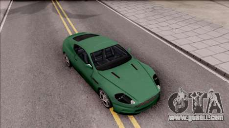 Aston Martin DBS for GTA San Andreas right view