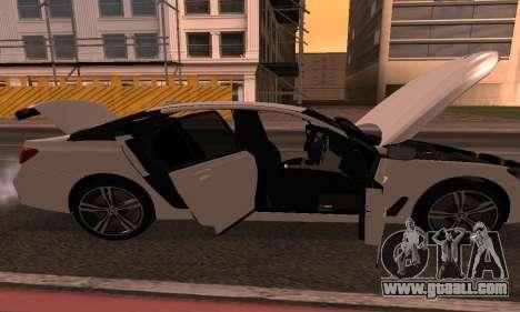 BMW 750i Armenian for GTA San Andreas back view