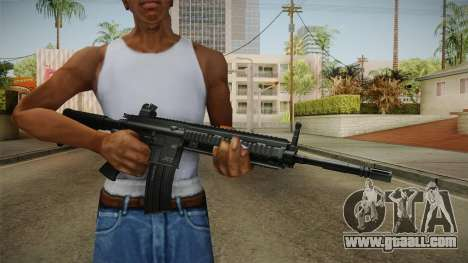 HK416 Assault Rifle for GTA San Andreas third screenshot