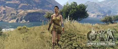 GTA 5 Wonder Woman 2017