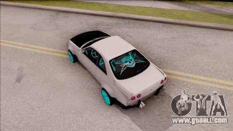Nissan Skyline R33 Rocket Bunny v2 for GTA San Andreas back view