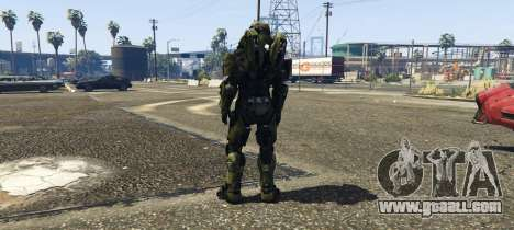 GTA 5 Master Chief second screenshot