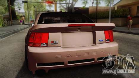 Saleen S281 2000 for GTA San Andreas back view