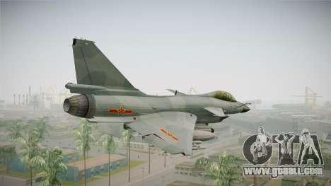Chengdu J-10 Vigorous Dragon for GTA San Andreas right view