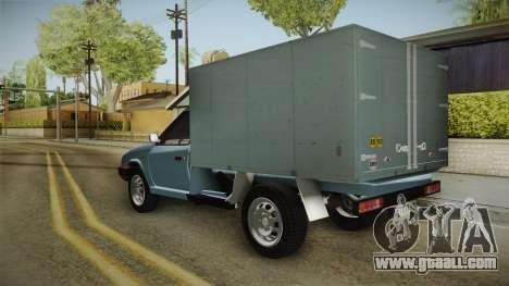 Skoda Favorit Truck D. for GTA San Andreas right view