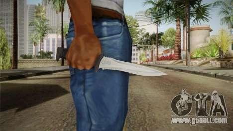 Ada Wong Knife for GTA San Andreas third screenshot
