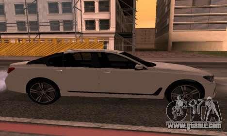 BMW 750i Armenian for GTA San Andreas left view