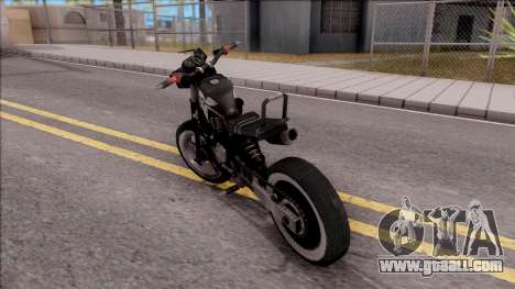 Homefront The Revolution Motorcycle for GTA San Andreas left view