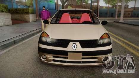 Renault Symbol for GTA San Andreas back left view