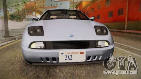 Fiat Coupe for GTA San Andreas upper view