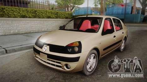 Renault Symbol for GTA San Andreas