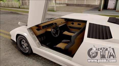 GTA V Pegassi Torero for GTA San Andreas inner view