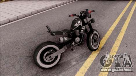 Homefront The Revolution Motorcycle for GTA San Andreas back left view