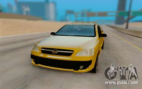 Chevrolet Montana for GTA San Andreas right view