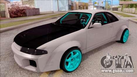 Nissan Skyline R33 Rocket Bunny v2 for GTA San Andreas