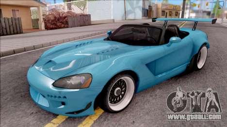 Dodge Viper SRT-10 Widebody 2003 for GTA San Andreas