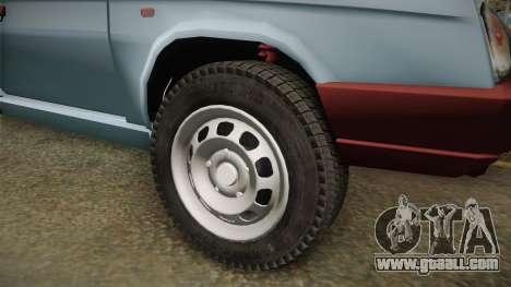Skoda Favorit Truck D. for GTA San Andreas back view
