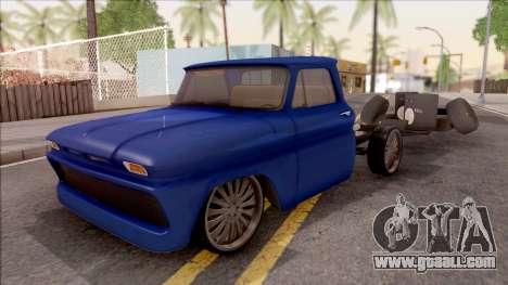 Chevrolet C-10 for GTA San Andreas