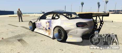 GTA 5 Zlayworks Nissan Silvia S15 left side view