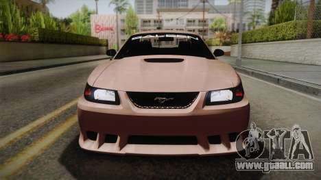 Saleen S281 2000 for GTA San Andreas right view