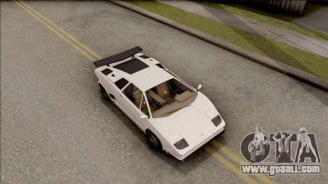 GTA V Pegassi Torero for GTA San Andreas right view