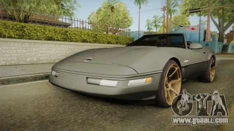 Chevrolet Corvette C4 Cabrio Drift 1996 for GTA San Andreas