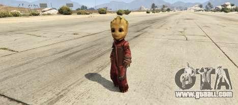 GTA 5 Baby Groot 1.0
