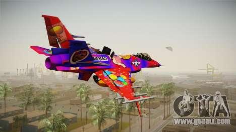FNAF Air Force Hydra Balloon Boy for GTA San Andreas
