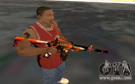 M4 Alliance for GTA San Andreas forth screenshot