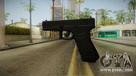 Glock 17 3 Dot Sight Red for GTA San Andreas second screenshot