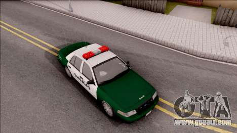 Ford Crown Victoria Flint County Sheriff 2010 for GTA San Andreas right view
