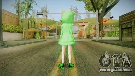 Creeper Skin for GTA San Andreas third screenshot